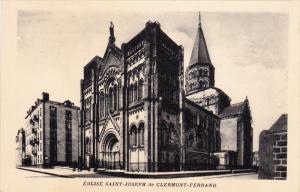 Eglise Saint-Joseph De CLERMONT-FERRAND (Puy de Dome), France, 1910-1920s