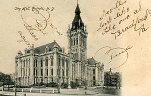 NY - Buffalo. City Hall