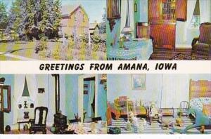 Iowa Amana Greetings From
