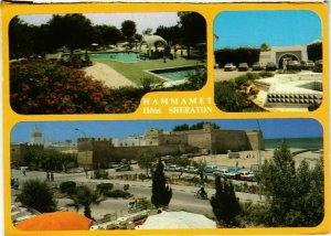 CPM AK HAMMAMET - Hotel Sheraton TUNISIE (799614)