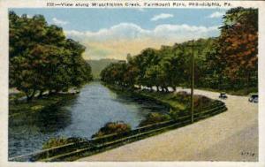 Wissahickon Creek, Fairmont Park Philadelphia PA Unused