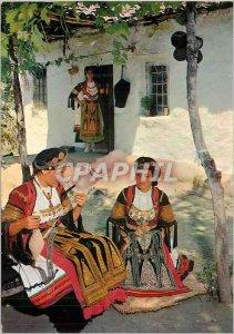 Postcard Modern Greece Costume Regional Thessaly (Karaguna)