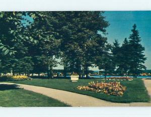 Pre-1980 TOWN VIEW SCENE Clear Lake - Dauphin - Minnedosa Manitoba MB p9409