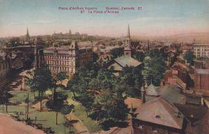 Place d'Armes Square, Quebec, Canada, 00-10s