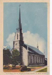 Eglise Saint Patrice, Riviere du Loup , Quebec , Canada , PU-1946