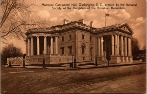 Memorial Continental Hall by Daughter of the American Revolution Washington D.C.