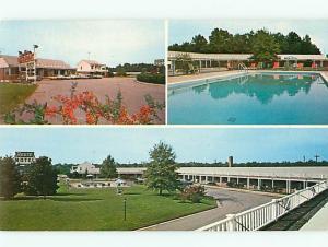 Emporia VA Reste Motel Hotel I-95 Swimming Pool Restaurant  Postcard # 5580
