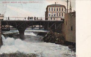 Main Street Bridge and Falls, Pawtucket, Rhode Island, 1901-07