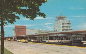 Exterior, General Mitchell Field Air Terminal, Milwaukee, Wisconsin, 40-60s