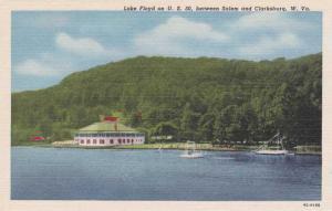 Lake Floyd Swimming Area - between Salem and Clarksburg WV West Virginia - Linen