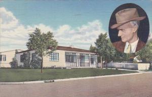 New Mexico Albuquerque Ernie Pyle's Home 1949 Curteich