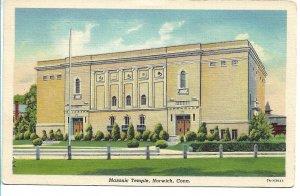 Norwich, CT - Masonic Temple - 1939