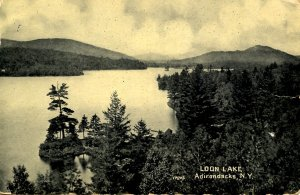 NY - Adirondacks, Loon Lake     (creases)