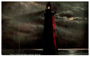 Massachusetts  Boston Harbor ,Minot's Ledge Light