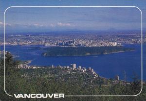 Canada Aerial View Vancouver British Columbia