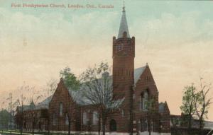 LONDON , Ontario , Canada , 1911 ; First Presbyterian Church