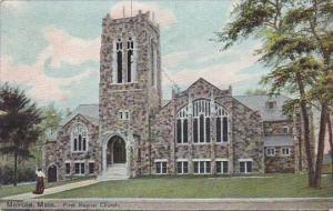 Massachusetts Melrose First Baptist Church