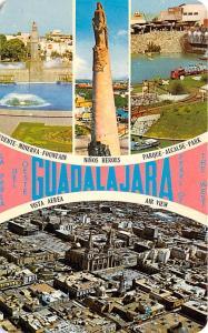 Mexico Old Vintage Antique Post Card Vista Area, Ninos Heroes Gudalajara 1971