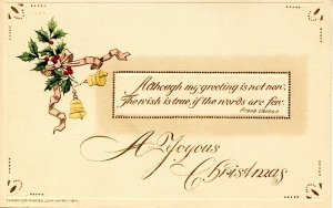 Greeting - Christmas.  (Winsch)