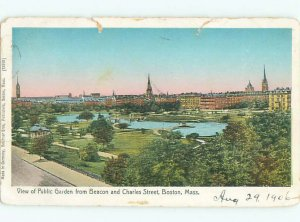 Pre-1907 CHARLES STREET Boston Massachusetts MA AF7136