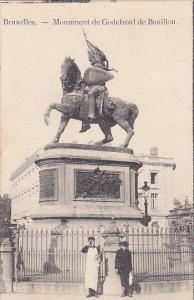 Belgium Brussels Monument de Godefroid de Bouillon