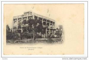 Palais du Gouvernement a Kayes (Soudan), Pre 1905
