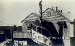 Real Photo - Indian Cliff Motor Court Concord NH Postal Used Unknown