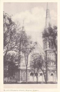 St. John Chrysoston Church, Arnprior, Ontario, Canada, 1930-1940s