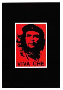 Postcard VIVA CHE, Che Guevara by Gert Wiescher (1968) D86