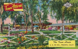 California Fresno The Town Housae Motor Hotel