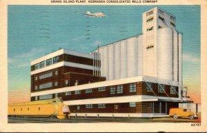 Nebraska Grand Island Nebraske Consolidated Mills Company Plant1940