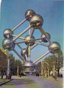 Belgium Brussells The Atomium Exposition Universelle Intermational De Bruxell...
