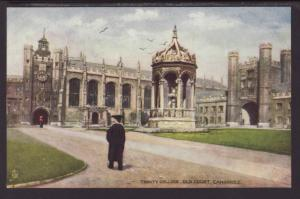 Trinity College,Cambridge,England,UK,Tuck's Postcard