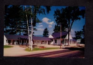 NH Adora Motel North Conway New Hampshire Postcard