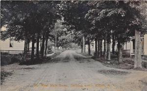 Willett NY West Main Street #36 RPPC Postcard