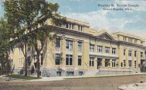 Wealthy St. Baptist Temple, Grand Rapids, Michigan,PU-1919