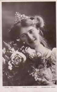 RP: Actress Miss Phyllis Dare Portrait , 1900-10s