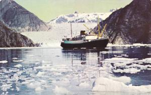 Tracy Arm, S.S. Glacier Queen and S.S. Yukon Star,40-60s