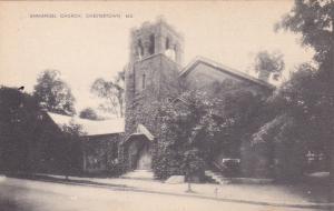CHESTERTOWN , Maryland , 20-30s ; Emmanuel Church