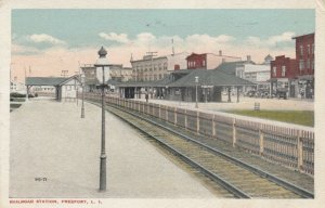 FREEPORT , L.I. , New York , 1921 ; Railroad Station