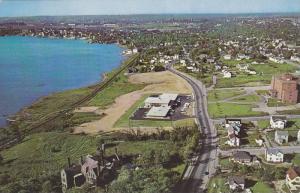 Aerial view of Sydney, Nova Scotia,  Canada, 40-60s