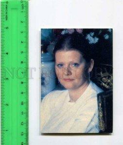 263884 USSR Mossovet Theater Irina Muraveva CALENDAR 1990 y