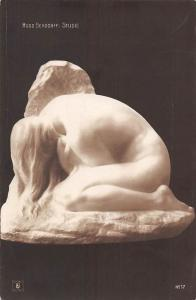 Art Postcard: Hugo Bendorff: Studie, Sculpture