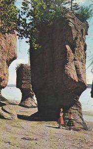 The Rocks, Hopewell Cape, New Brunswick, Canada, PU-1971