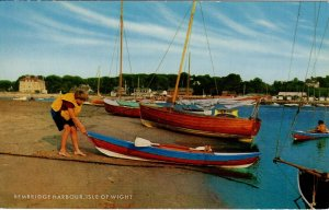 (am42) Bembridge Harbour - Isle of Wight Postcard
