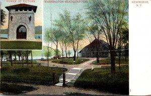 New York Newburgh Washington Headquarters With Tower Of Victory 1908