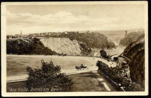 bristol, DURDHAM DOWN, Sea Walls (1915)