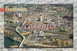 Postcard Modern Senic Buffalo New York
