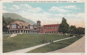 LAKE GEORGE, New York, 00-10s; Auditorium & Main Building, Silver Bay Associatio