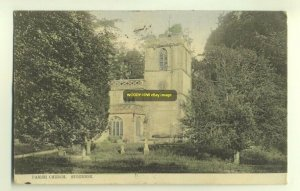 cu0998 - Parish Church , Stourton , Wiltshire - postcard